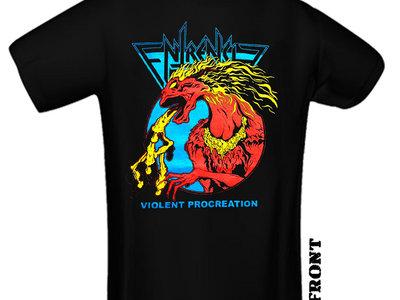 "ENTRENCH ""Violent Procreation"" coloured T-Shirt main photo"