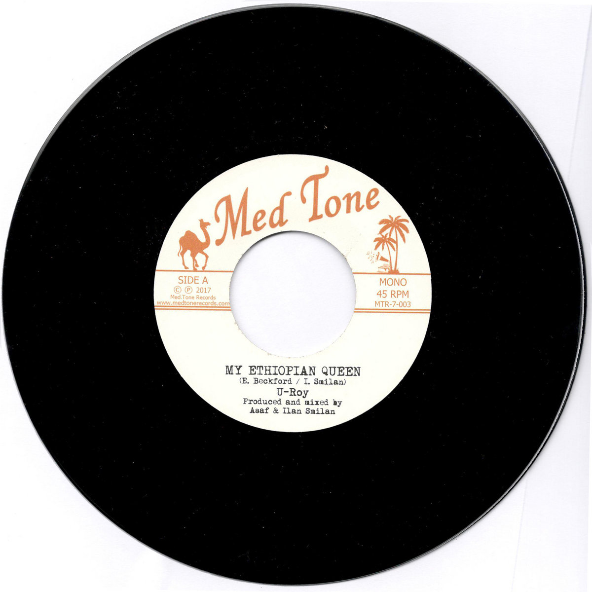 4a3cf6b47f U-Roy - My Ethiopian Queen   Med Tone Records