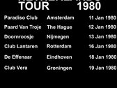 Joy Division Netherlands Tour 1980 photo