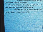 CD album (Ecstatic Peace! E#77) photo