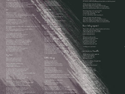 """Placemats and Second Cuts"" Lyrics Poster main photo"