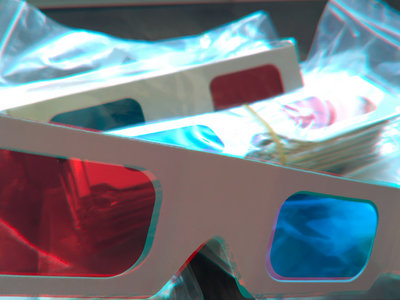 3D Anaglyph Glasses main photo