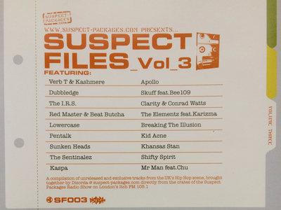 Suspect Files Vol.3 (CD) main photo