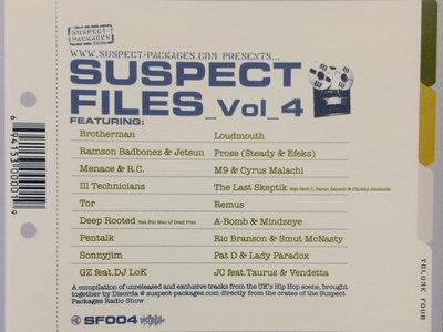 Suspect Files Vol.4 (CD) main photo