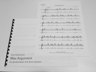 Wax Argument (Full score and parts) main photo