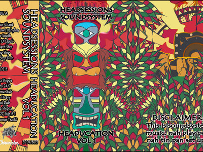Headsessions Soundsystem - Headucation Vol.1 (Tape) main photo