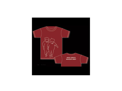 """Mike Errico """"Wander Away"""" T-Shirt, Burgundy main photo"""