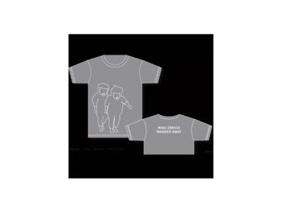 """Mike Errico """"Wander Away"""" T-Shirt, Gray main photo"""