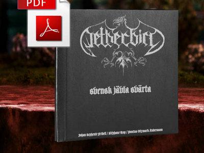 Netherbird - svensk jävla svärta DIGITAL PDF-book with 11 postcards main photo