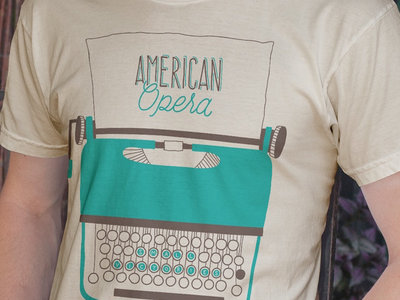 American Opera Typewriter T-shirt main photo