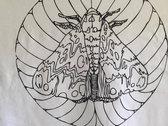 Moth Design Tee photo