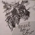 angel boy cow image