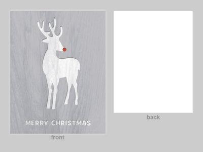 'Rudolph' Cards (12 pk) main photo