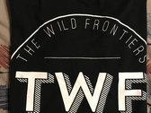 The Wild Frontiers 'TWF' logo tee photo