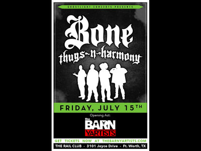 TICKET: The Rail Club (Opening up for Bone Thugs-N-Harmony) main photo