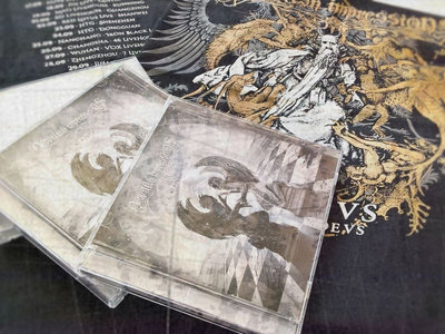 Simulacra CD (Chinese version with 2 bonus tracks) + limited China & Taiwan 2016 tour T-Shirt main photo
