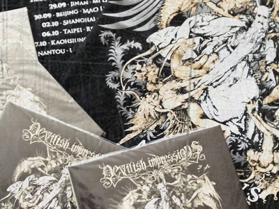 Adventvs / Eritis Sicvt Devs limited edition Digipak CD + limited China & Taiwan 2016 tour T-Shirt main photo