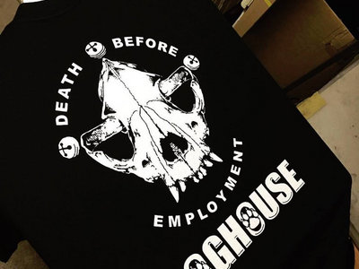 Death Before Employment Design T-Shirt main photo