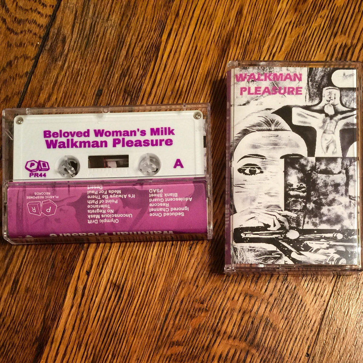 Walkman Pleasure | plastic response records