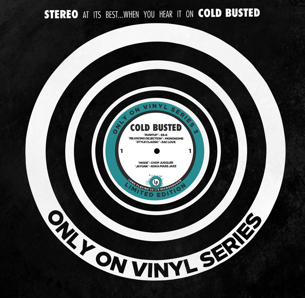 Only On Vinyl 3 | Cold Busted