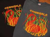 Cannibale T-shirt bleu ou noir - Blue or black photo