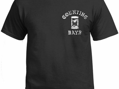 Counting Days Distressed Logo T-Shirt with back print main photo
