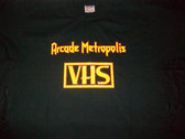 ARCADE METROPOLIS VHS T-shirt photo