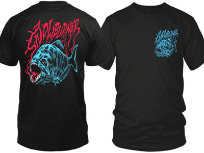 Piranha Design - front & back print main photo