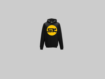 KnightWear - Black Hoody with Yellow 'SK' Logo main photo