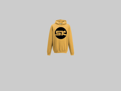 KnightWear - Yellow Gold Hoody with a Black 'SK' Logo main photo