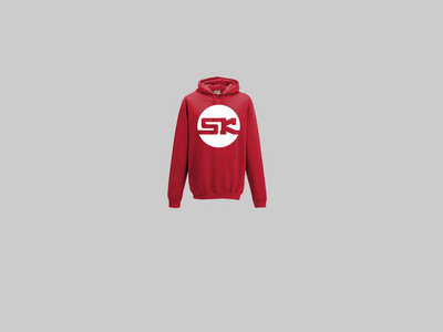 KnightWear - Red Hoody with White 'SK' Logo main photo