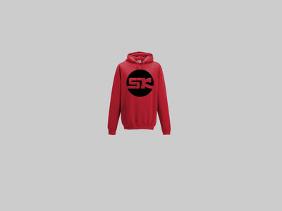 KnightWear - Red Hoody with a Black 'SK' Logo main photo