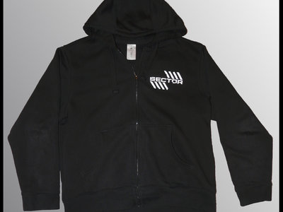 Hoodie (zipped) - white logo main photo