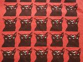 Mutant Moon Cat T-Shirt [Red] photo