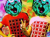 Mutant Moon Cat T-Shirt [PINK] photo
