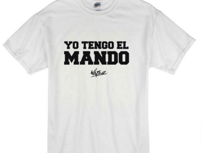 "Camiseta ""Yo tengo el mando"" main photo"