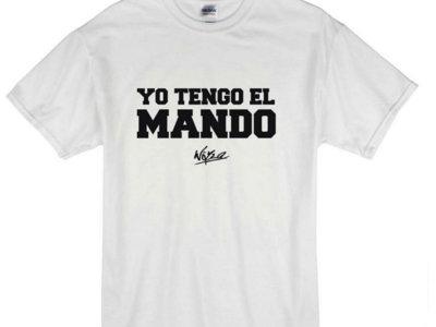 "Camiseta infantil  ""Yo tengo el mando"" main photo"