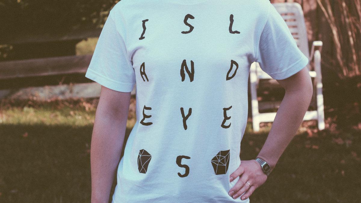 Island Eyes White T Shirt Main Photo