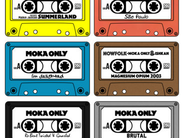 Moka Only #12albumsFor2016 Cassette Collection. Part 1 main photo