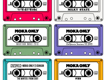 Moka Only #12albumsFor2016 Cassette Collection. Part 2 main photo