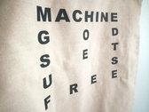 """""""Machine God"""" tote bag photo"""