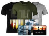 Official TILT T-shirt DARK GREEN photo