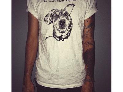 """Dog"" T-Shirt White main photo"