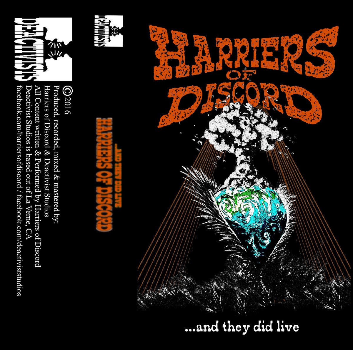 and they did live | Harriers Of Discord