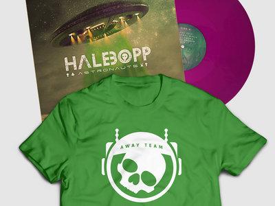 Vinyl Record + Shirt (Astro Green) main photo