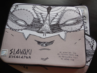 "15"" Laptop Sleeve/Case feat. Slavaki - Escalator Artwork by Sam Crew main photo"