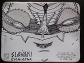 "15"" Laptop Sleeve/Case feat. Slavaki - Escalator Artwork by Sam Crew photo"
