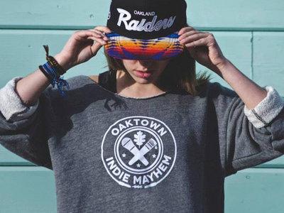 Oaktown Indie Mayhem Crop Top Sweater main photo