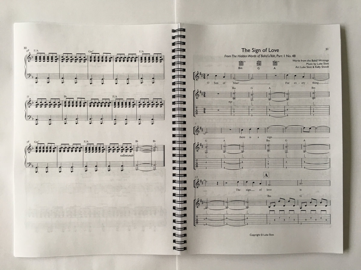 Year of the nightingale luke slott songbook of guitar tabs and piano notation for all the songs on year of the nightingale also includes tabs and notation for bonus songs create in me a hexwebz Images