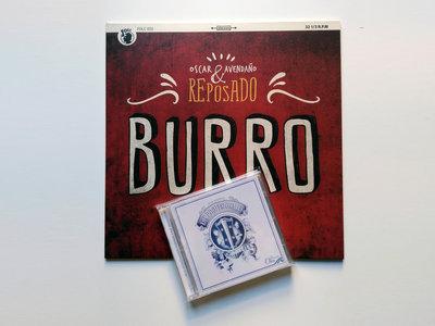 Burro (vinilo) + Demasiado Oro (cd) main photo